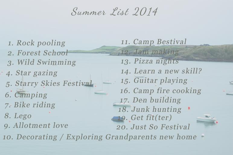 summer list 2014