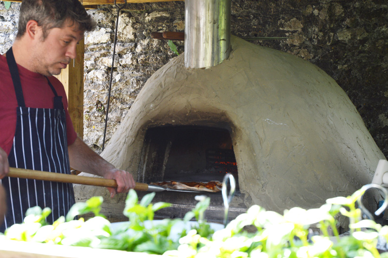 pizza oven - walled garden mells