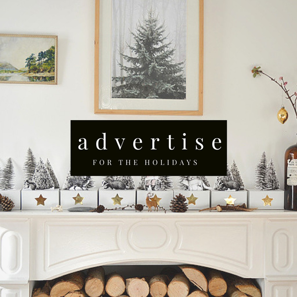 Christmas advertise