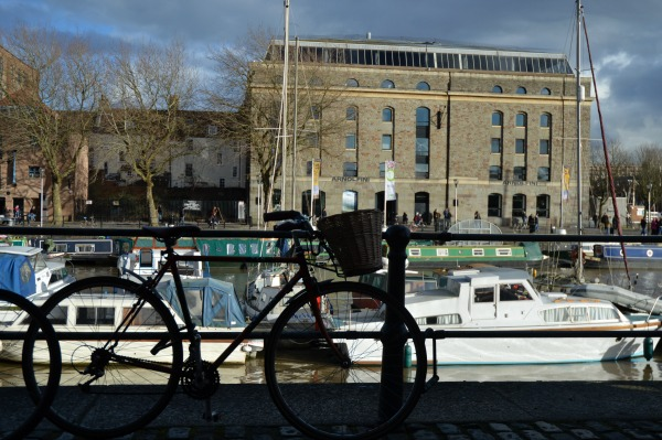 bike and arnolfini