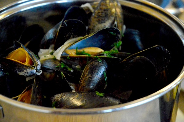 moules close up