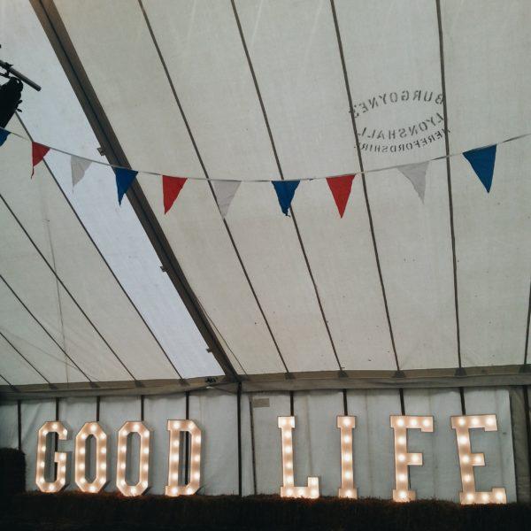 Littlegreenshed blog - good life experience