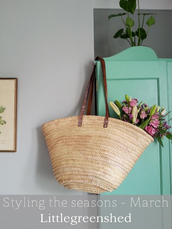 Littlegreenshed blog march styling the seasons
