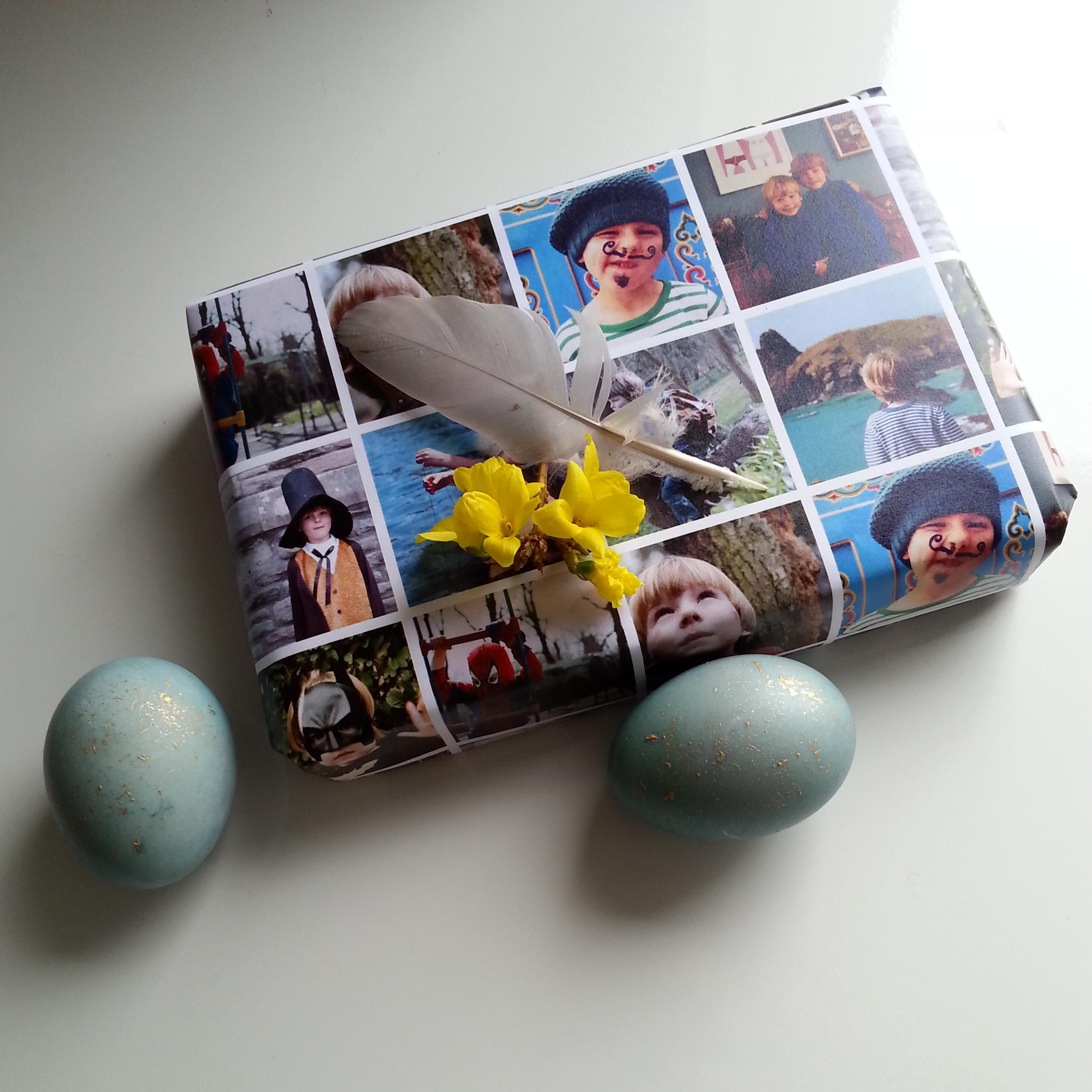 wrap, gifts, littlegreenshed, blog, post, easter