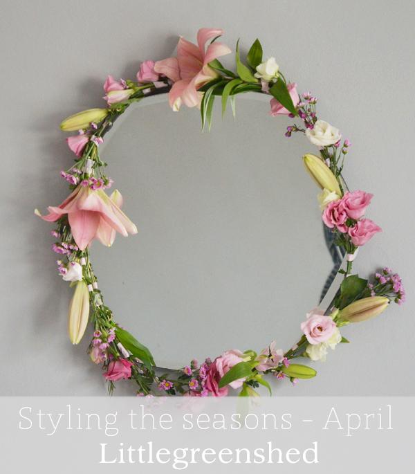 Styling Spring at Mine - Littlegreenshed blog