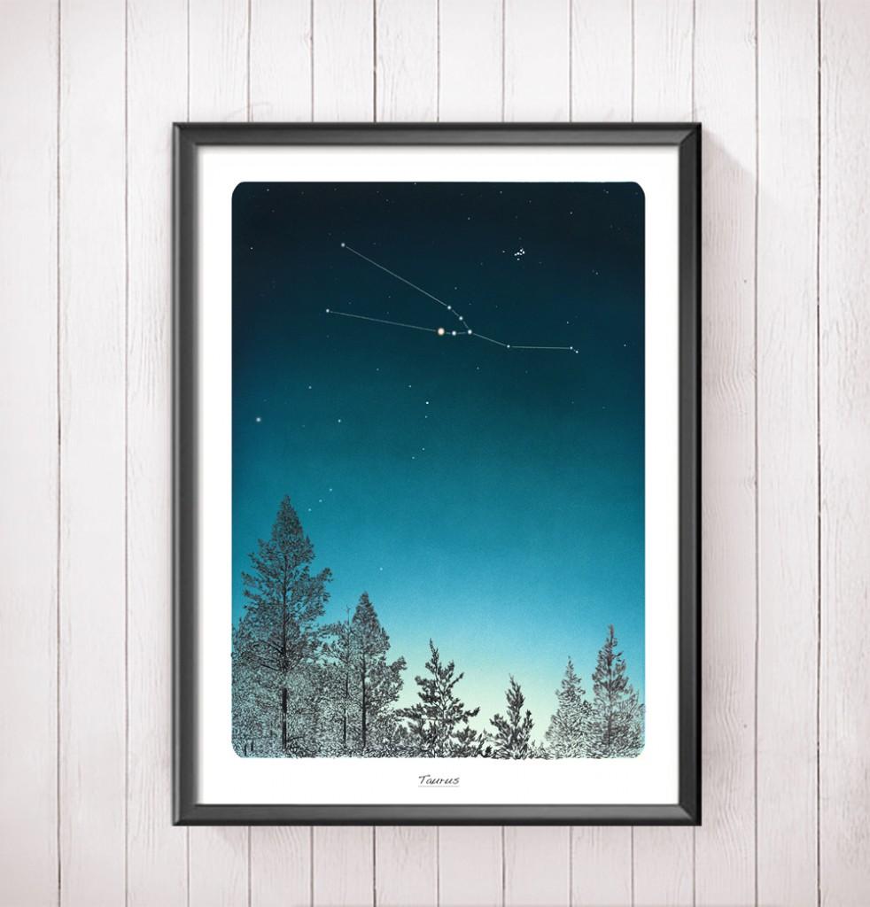 zodiac-framed