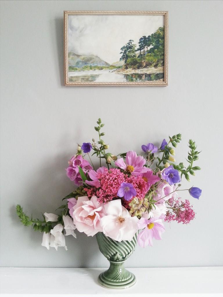 Littlegreenshed Blog - Floral arrangement for June