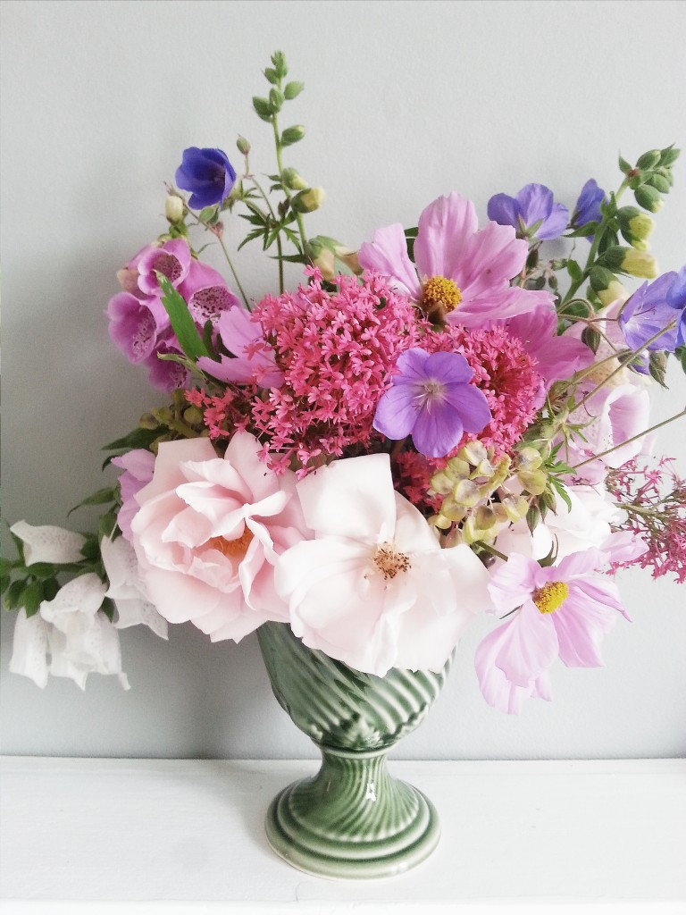 Littlegreenshed Blog - Floral arrangement for June
