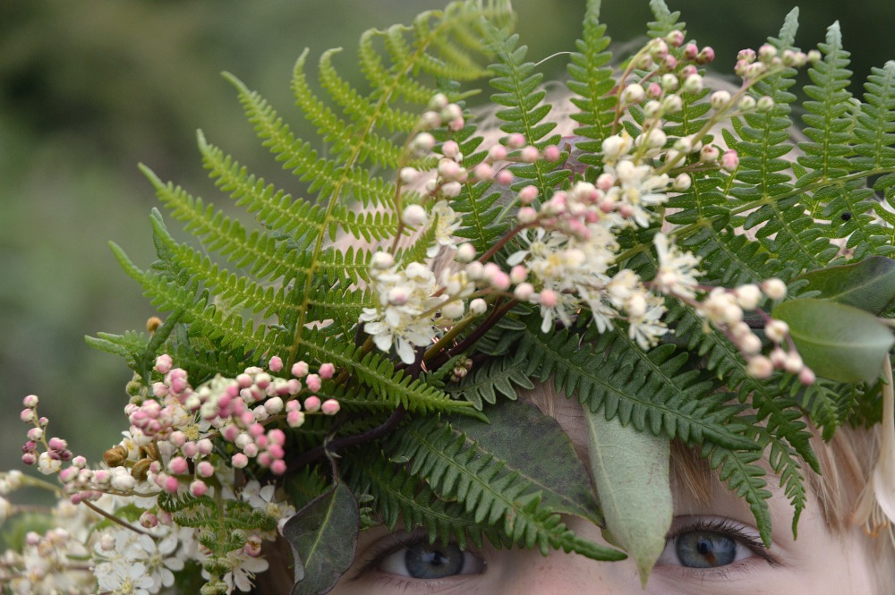 Littlegreenshed blog - midsummer flower crowns 2