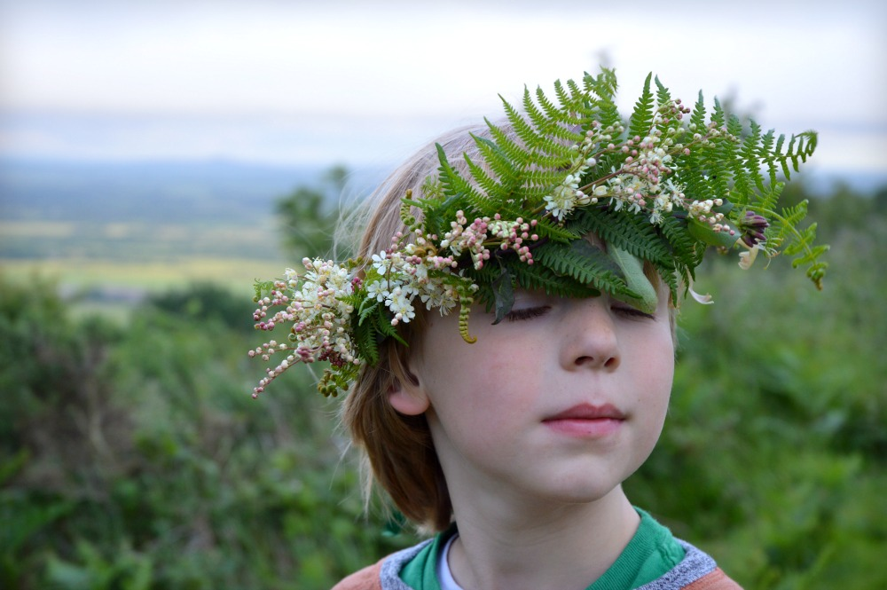 Littlegreenshed midsummer flower crowns