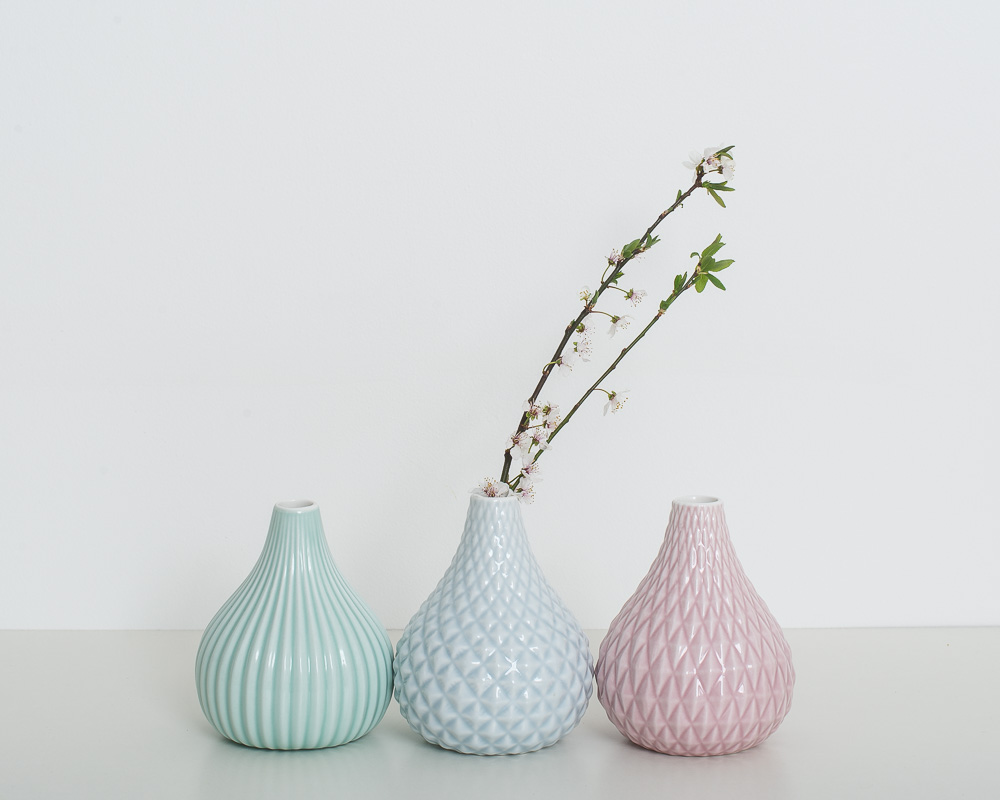 decorative accessories geometric vase