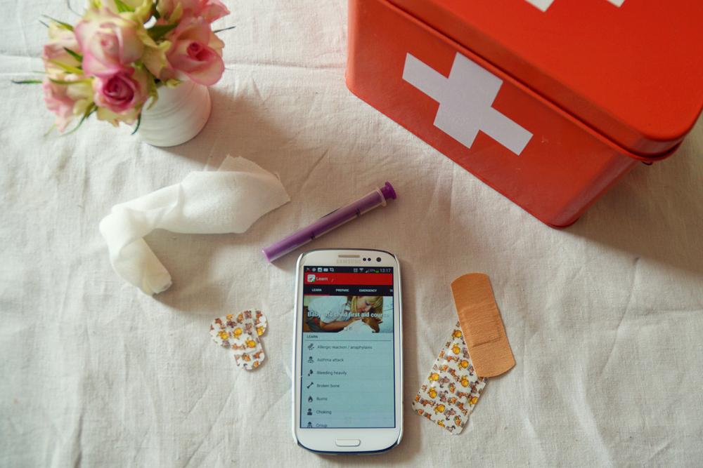 British red cross app - littlegreenshed blog 2