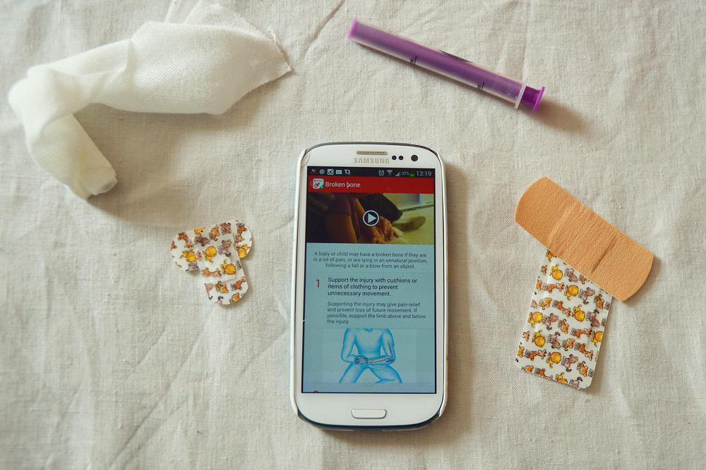 British red cross app - littlegreenshed blog 3