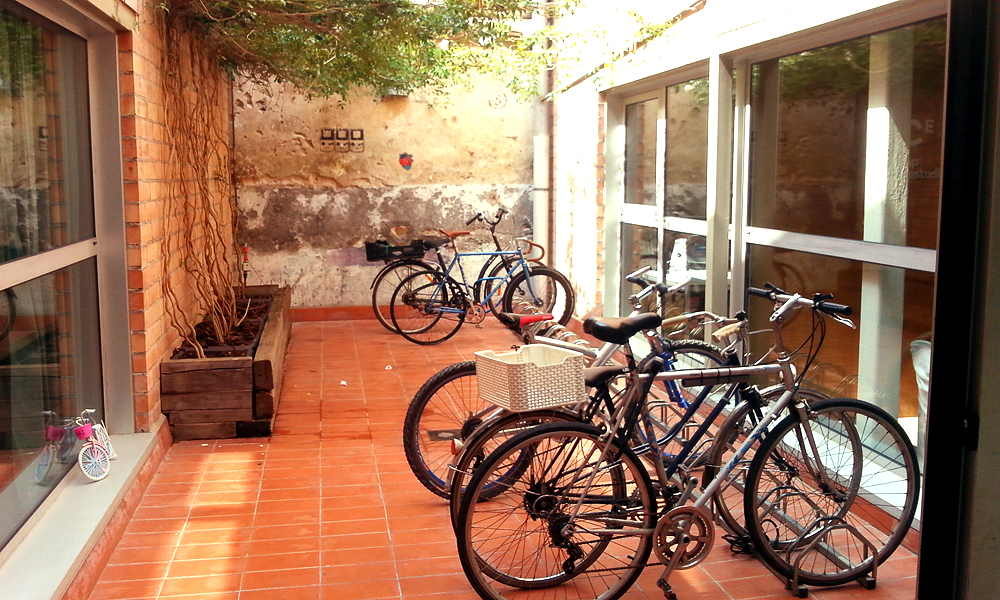 cool bike shed poble nou barcelona littlegreenshed blog