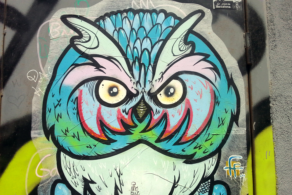 street art poble nou barcelona littlegreenshed blog