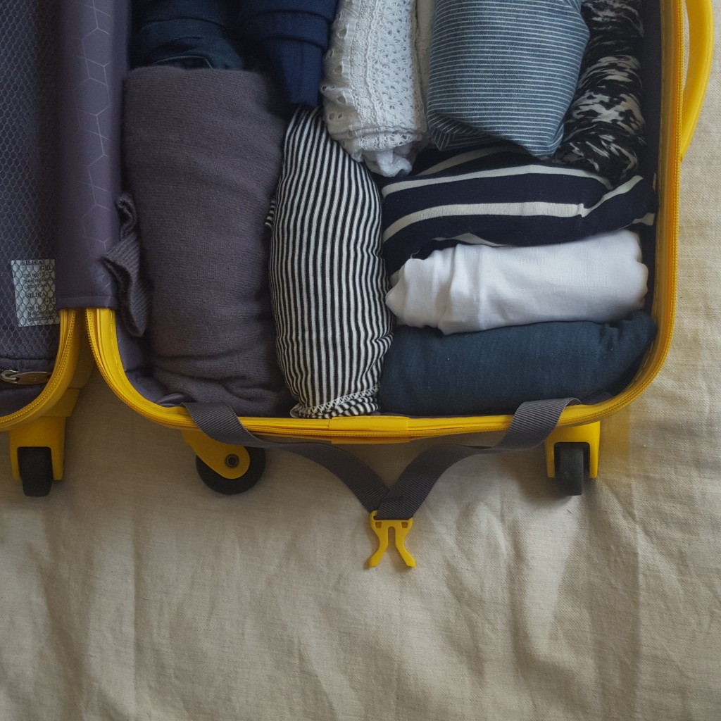 Capsule wardrobe- packing for france