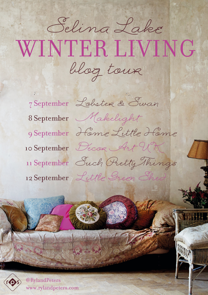 Selina Lake Winter Living Book Tour Littlegreenshed Blog