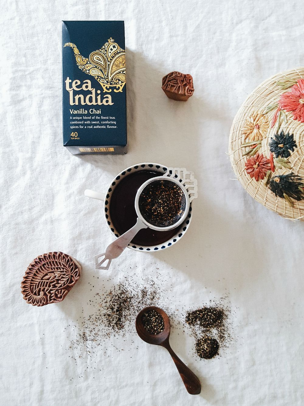Vanilla Chai from Tea INdia