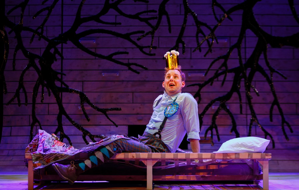 Sleeping Beauty - Bristol Old Vic - David Emmings (Percy) - Photography by Steve Tanner