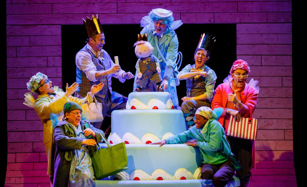 Sleeping Beauty - Bristol Old Vic - Ensemble - Photography by Steve Tanner