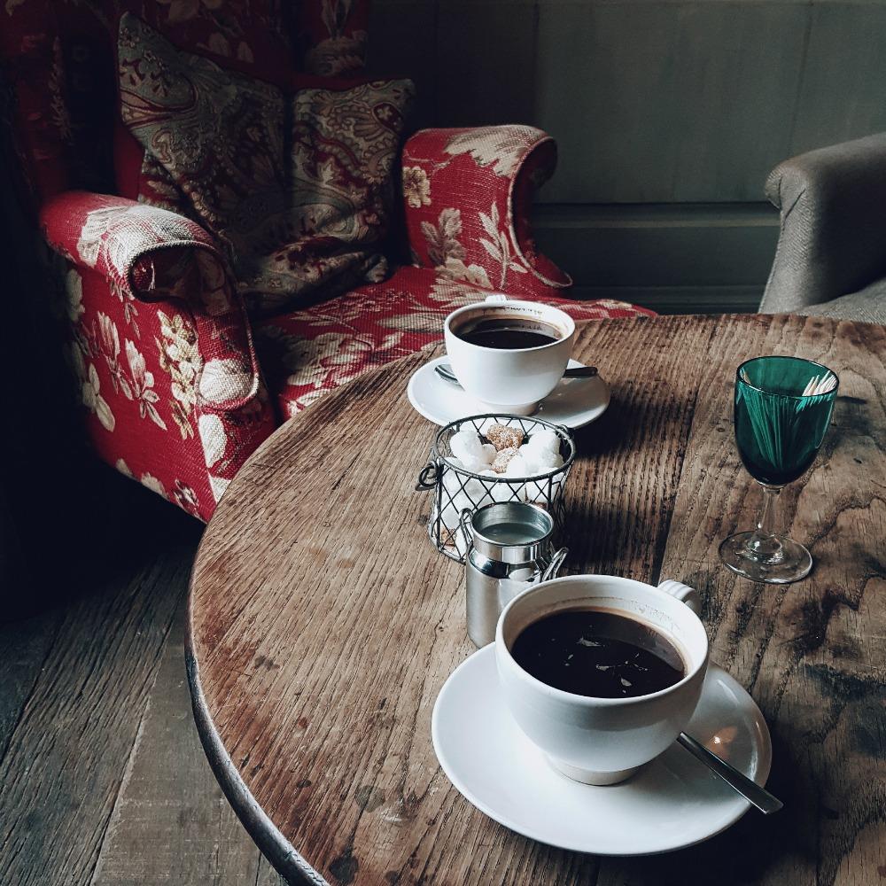 coffee white cups - littlegreenshed blog