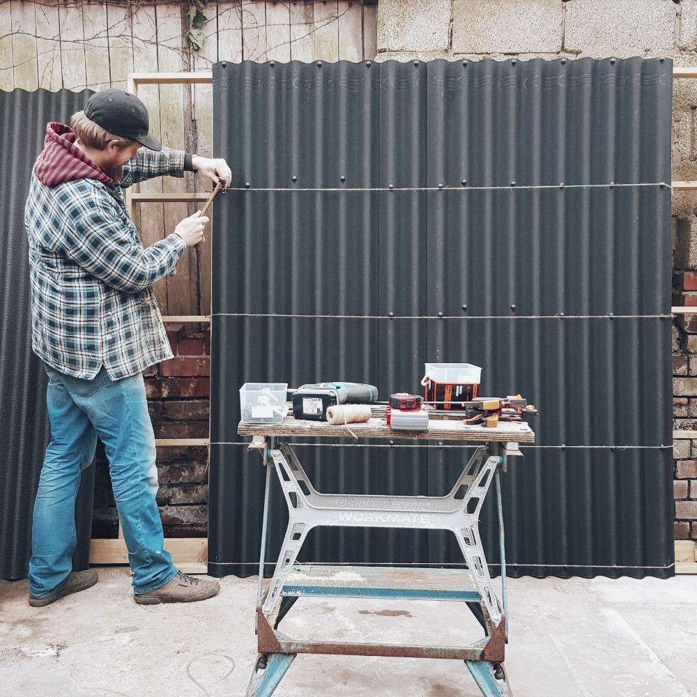 coroline black shed