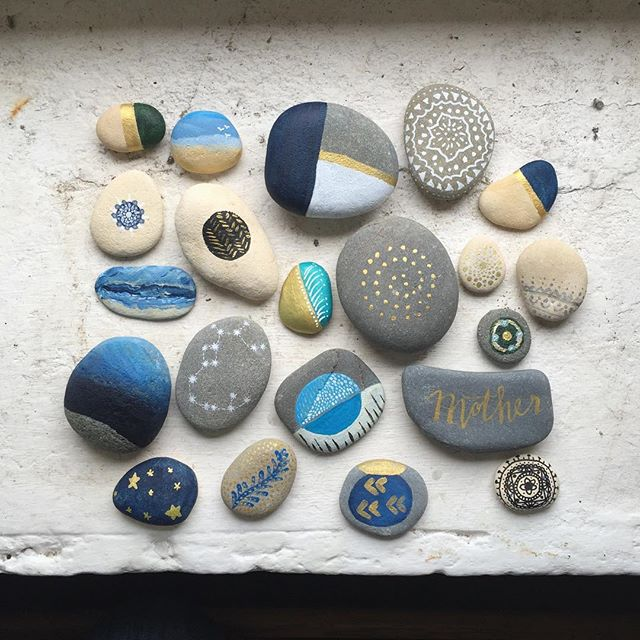 sisterhood camp pebble painting