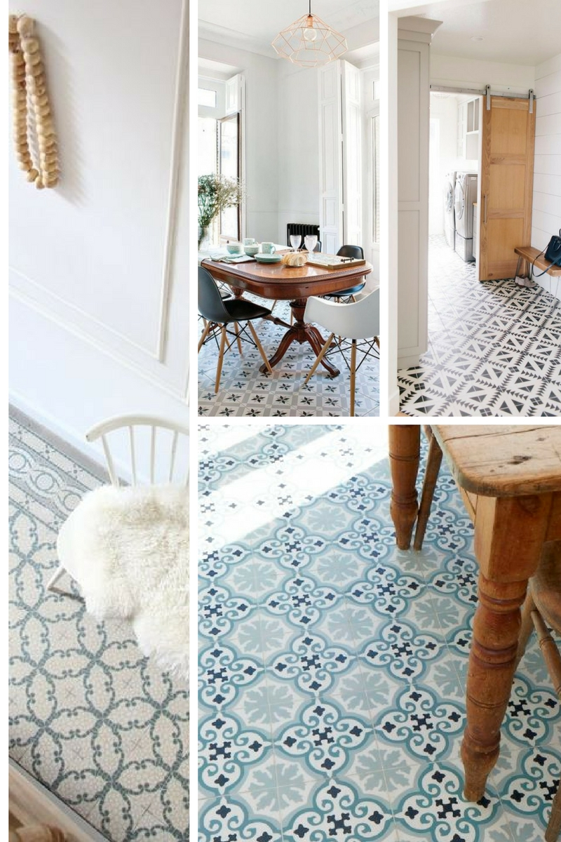 Moroccan floor tiles Littlegreenshed Blog