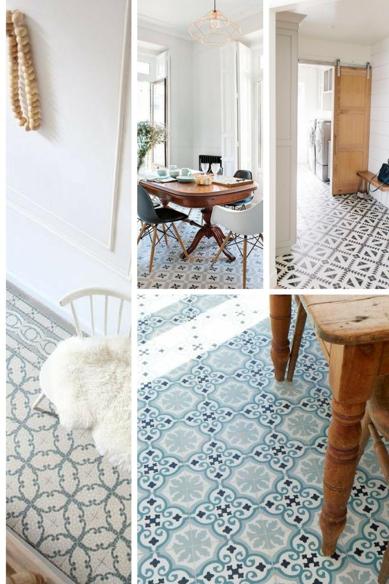 Moroccan floor tiles Littlegreenshed Blog