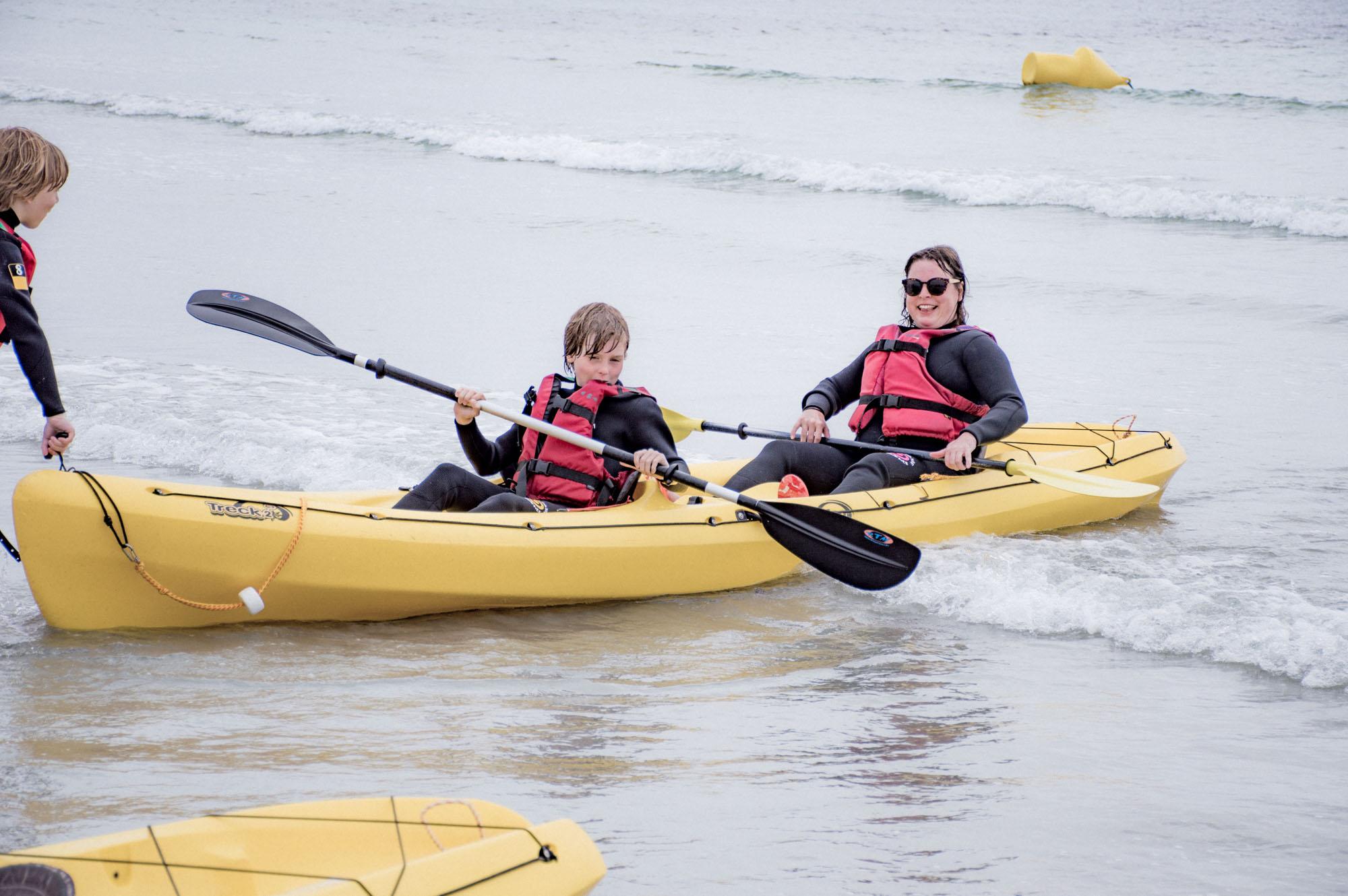 Lou Archell kayaking July 2016
