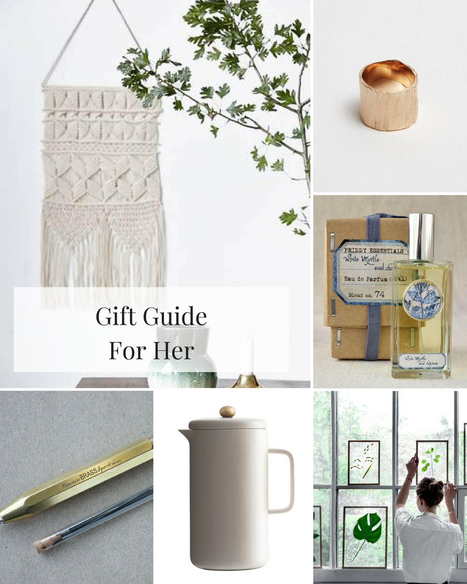 littlegreenshed gift guide for her