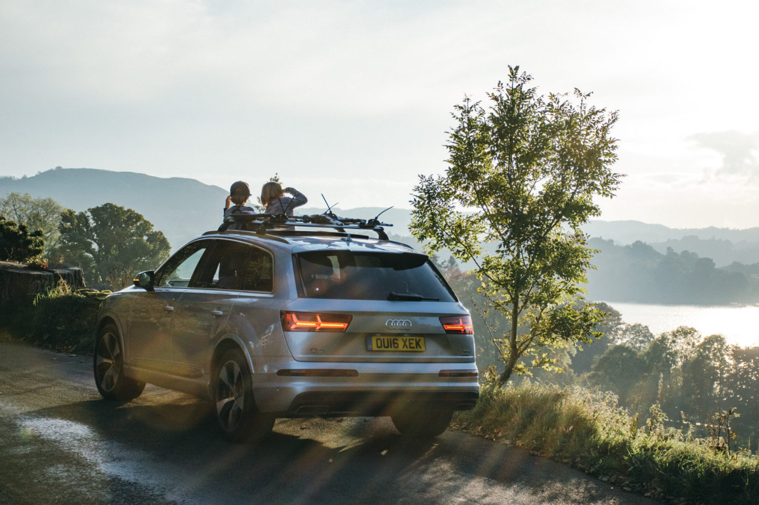 Audi weekend Q7 Littlegreenshed Blog