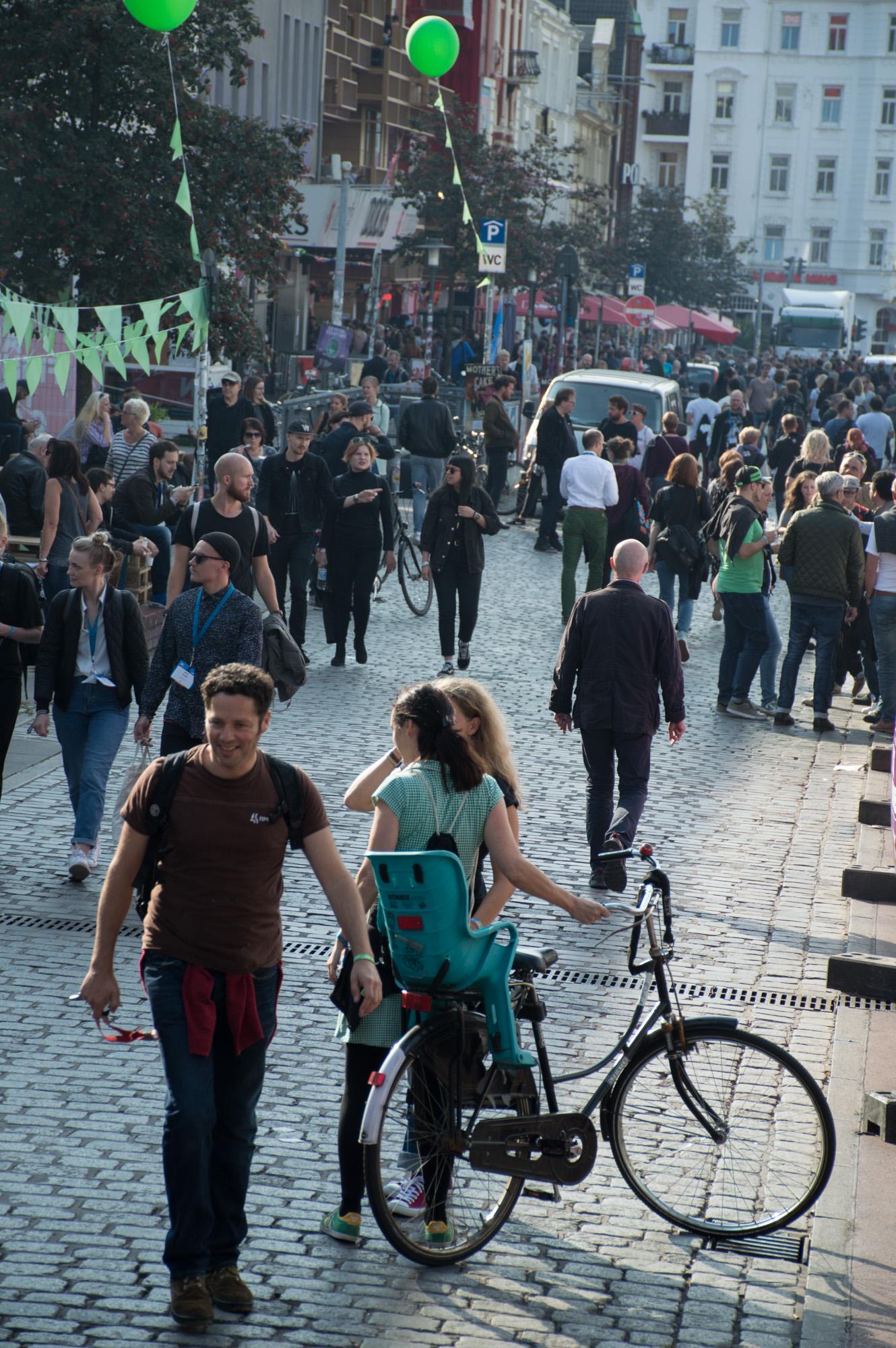 Littlegreenshed Blog Reeperbahn festival Hamburg