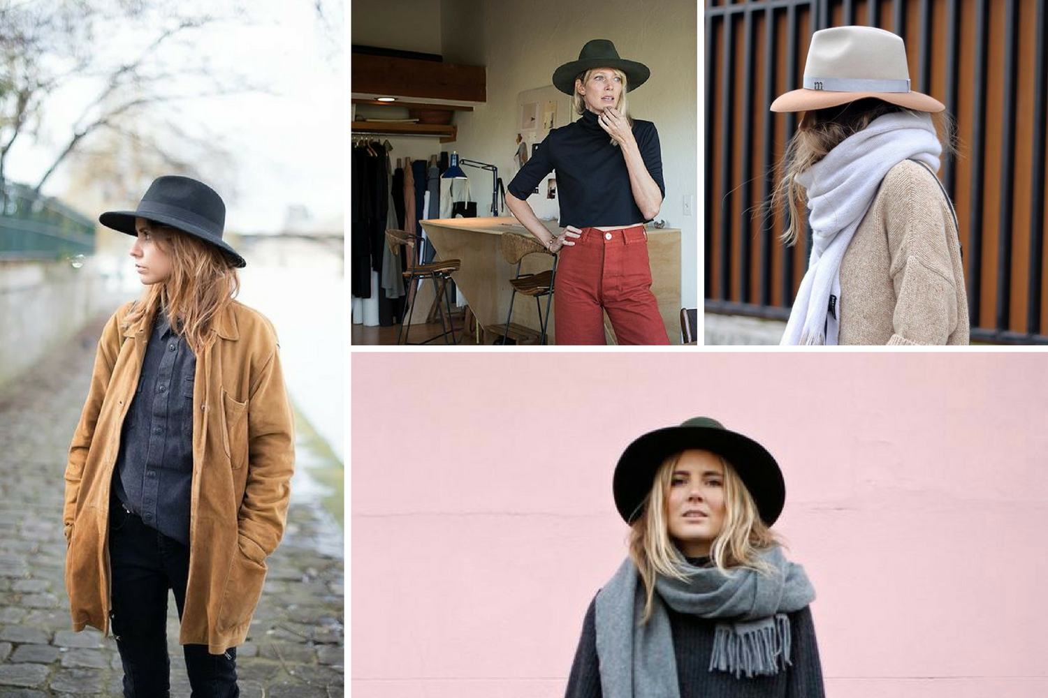 fedora autumn style winter hats