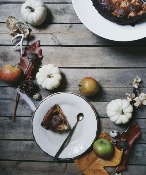 Apple Cake littlegreenshed blog recipe