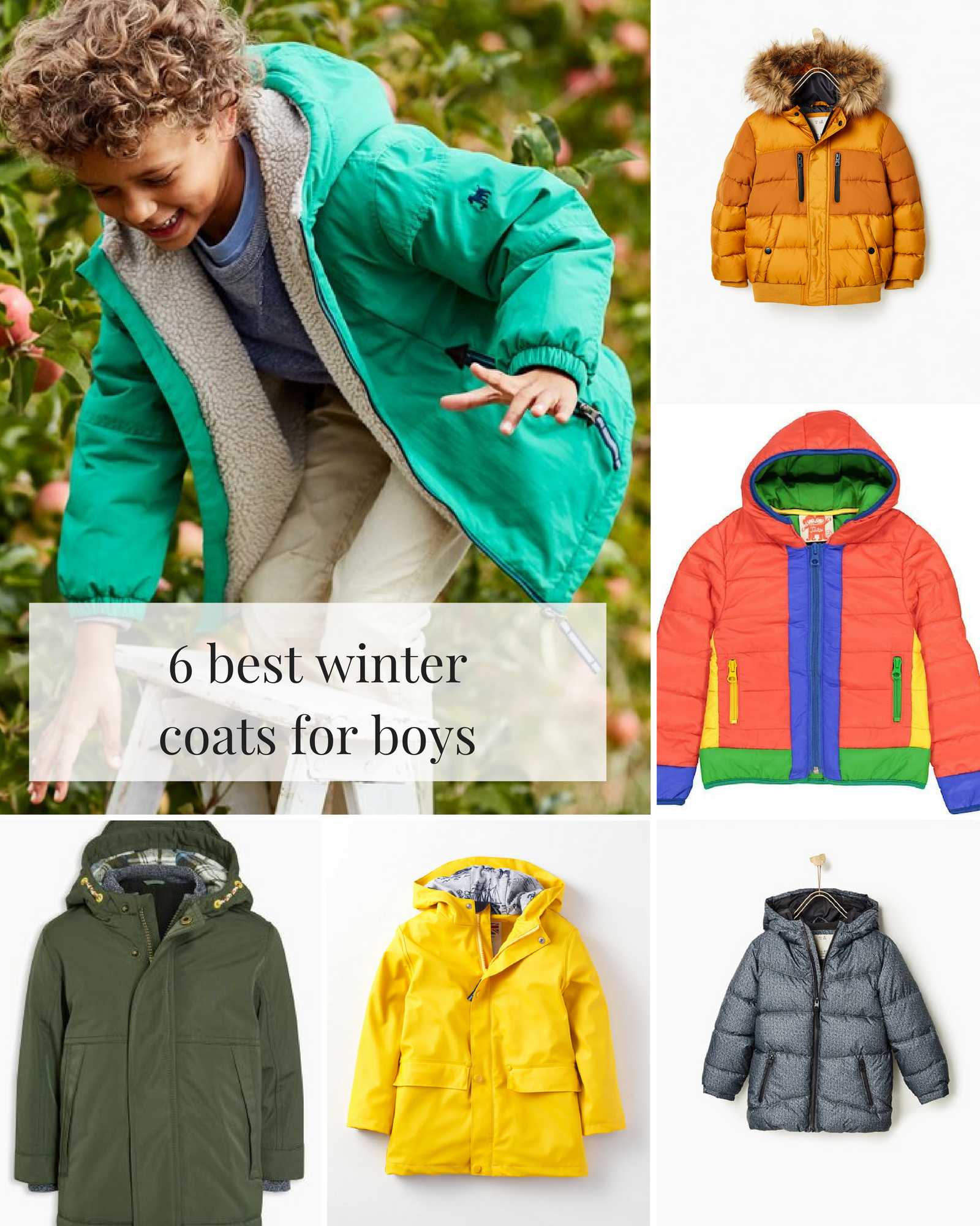 6 best winter coats for boys