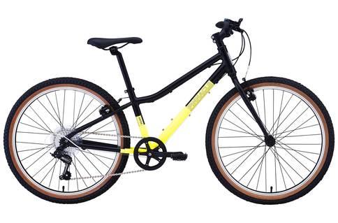 Kids Bike Buying Guide - pinnacle-aspen-6-speed-24-inch-kids-bike-matt-black-matt-yellow