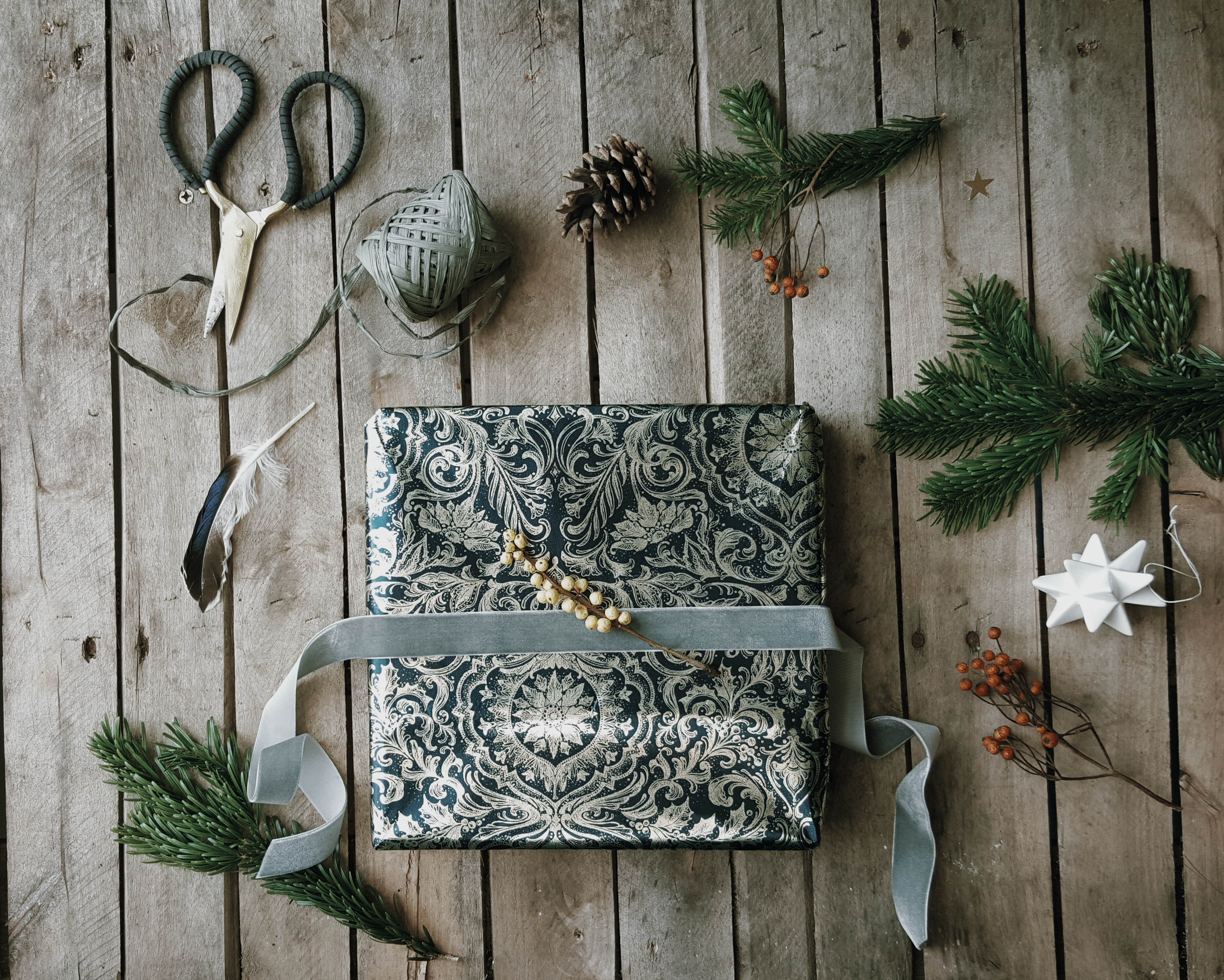 christmas gift wrapping littlegreenshed