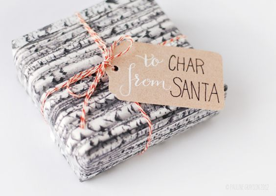 littlegreenshed christmas gift wrapping ideas
