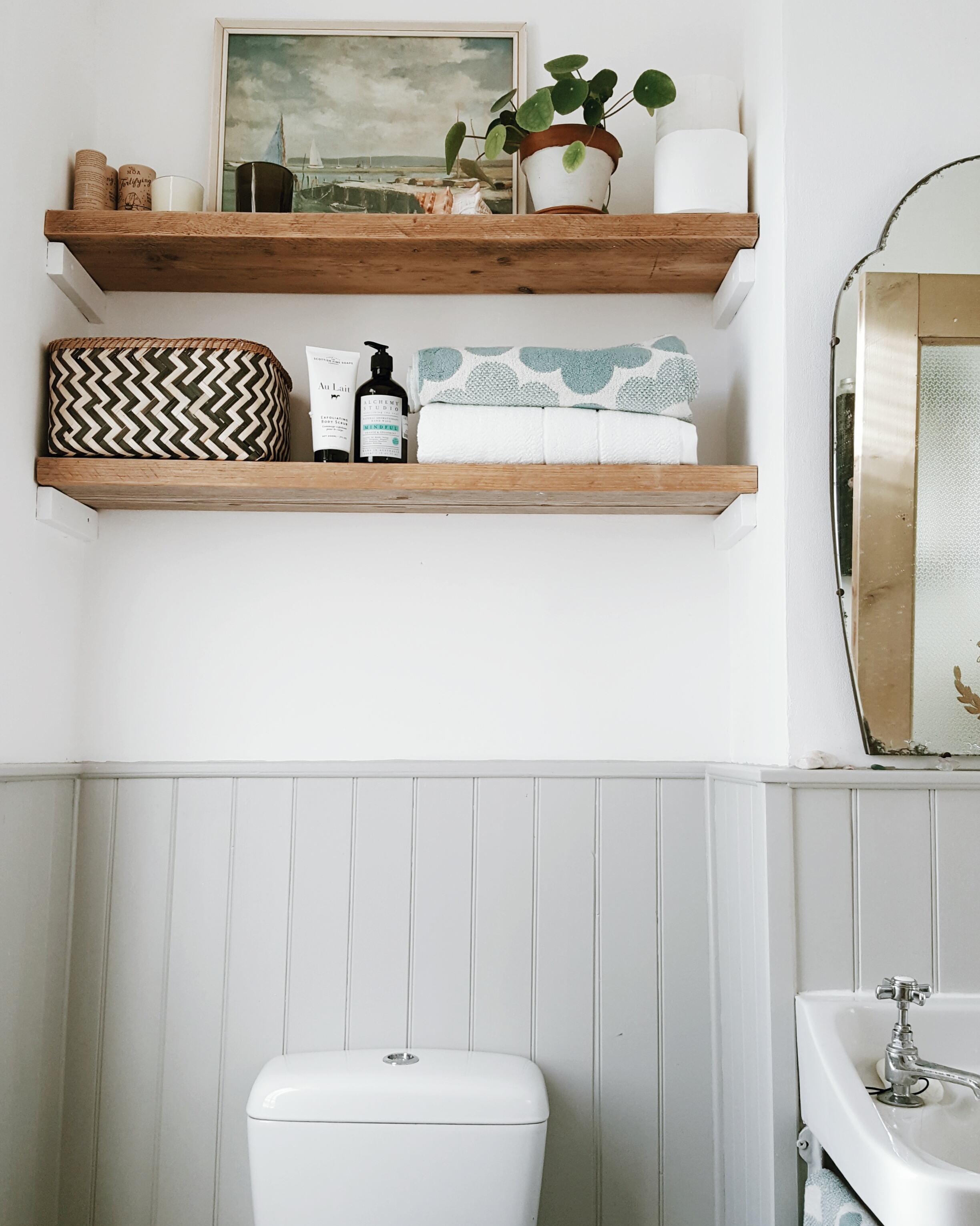 Simple living new year new me with tk maxx for Bathroom towel storage ideas uk