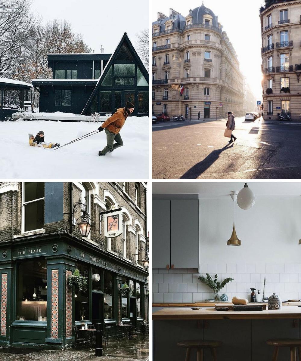 january instagram four favourite feeds