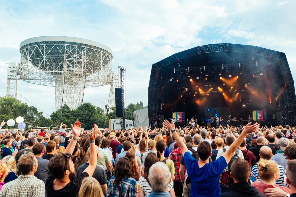 bluedot festival, science, music and outerspace